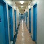 Tenth floor corridor