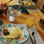 A fabulous breakfast.
