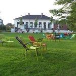 Hamburg Wasserwerk Wilhelmsburg mit Park