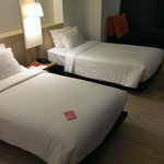 Standard room - twin, comfortably accommodates 3.