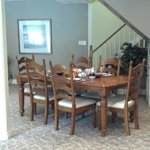 dining area  to relax and enjoy a leisurely breakfast