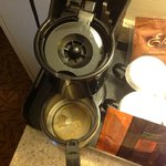 This is why we don't use hotel coffee makers