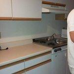 """Unstocked """"kitchen"""" area"""