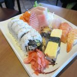combo sushi plate