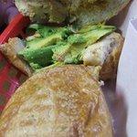 Delicious Chicken and Avocados Sandwich