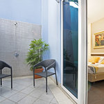 Courtyard Room (with private enclosed courtyard with shower facilities)
