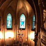 Intérieur de la chapelle.