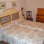 La camera doppia con letti singoli