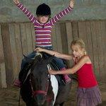 Indoor horseriding