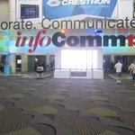 Entrance to Infocomm 13