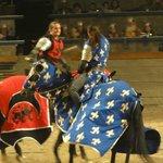 Red Knight vs Blue Knight!