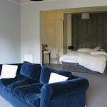 Sofa converts into comfy queen bed