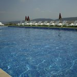 Lovely clean pool with panoramic views of beautiful Bulgarian countryside