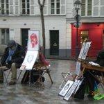 Montmartre artisti di strada