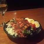 Grilled salmon Cobb Salad...one of our lunch specials