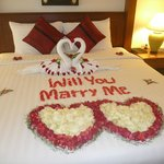 Baan Yuree organised my daughters wedding proposal.