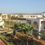 vue de l'hôtel d'une terrasse
