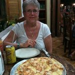 ¿Gustas pizza de langosta de Edelyn?