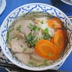 Simple rice noodle soups served any time of day.