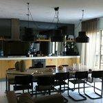 De luxe zimmer wohnbereich /Küche