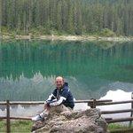 Luca al lago di carezza