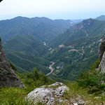 View from Monte Forato - you can visit from Rustico Sara