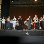 George Formby Society on Stage where George performed