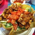 Fabulous: BBQ Chix Taco Salad