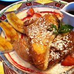 Stuffed Coconut Creme French Toast