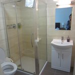 Clean, new bathrooms.