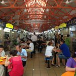 Just down the street is a hawker center with yummy cheap food