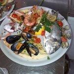 buonissimo cartoccio di pesce...