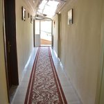 upstairs corridor to the rooms