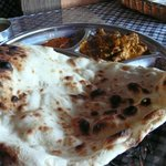 Curry Beef with Naan
