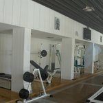 The gym downstairs
