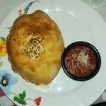 Hot and Spicy Calzone