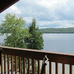 View of lake from the cabin