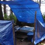 Orca Camp toilet