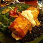Ahora Special Plate - Steak Burrito