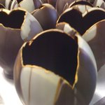 chocolate tulips