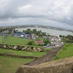 view from dutch fort  in galle