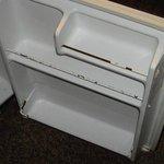 Refrigerator rusting.