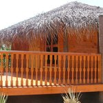 Luxurious wooden cabana