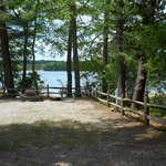 Water side tent and rv sites