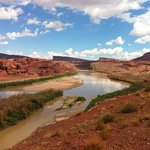 The Colorado River, a few minutes walk from Base Camp