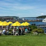 Terrace Grill over looking Bar Harbor