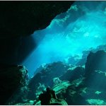 Cenote diving with Coconut Divers