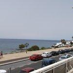 view across to fuerteventura