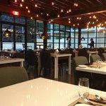 Inside Portico Global Cuisine...Empty