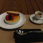 Tahitian Creme Brule was fantastic...I've had better espresso though